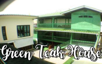 Green Teak House เกสเฮาส์ไทยประยุกต์