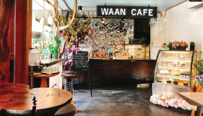 คาเฟ่ป่าสุดชิค Waan Café Nimman